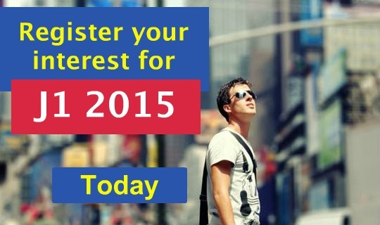 Register your interest today for your J1 2015