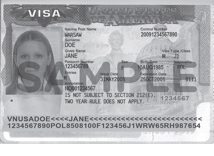 J Visa Allows To Travel In The Us